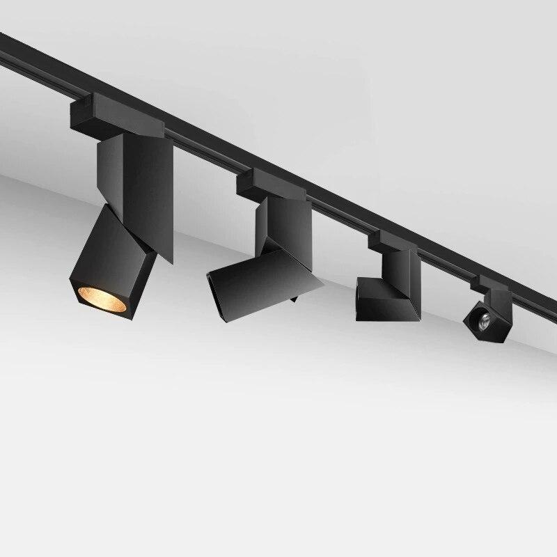 Luces LED empotradas plegables de rotación de 360 ° de foco de techo COB regulable 15W/20W 85-265V iluminación interior