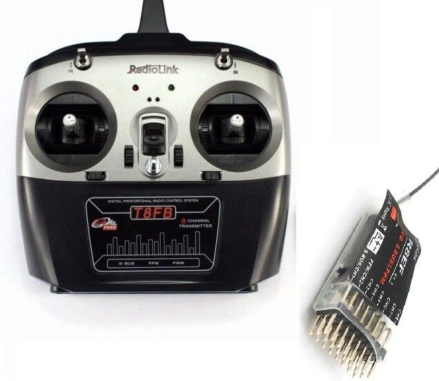 Original RadioLink T8FB 2,4 GHz 8ch RC Sender R8EF Empfänger Combo Remote Rontrol für RC Hubschrauber DIY RC Quadcopter Flugzeug