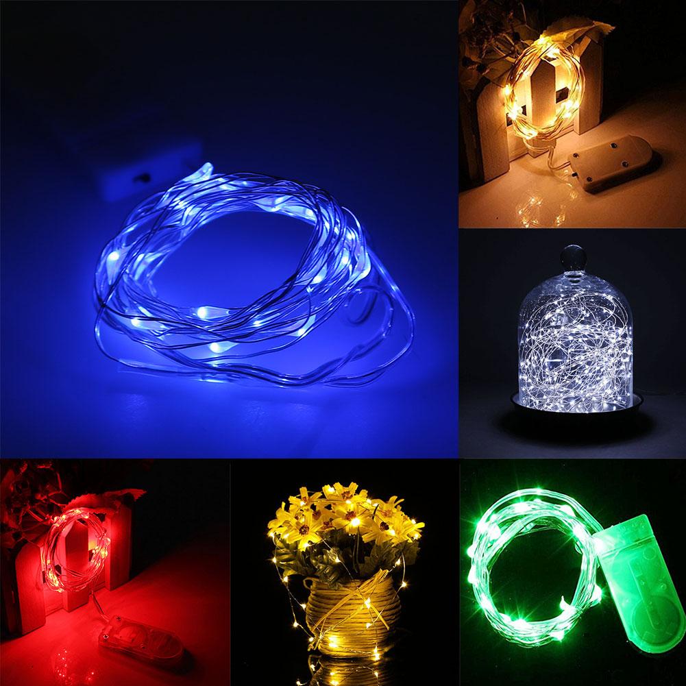 3.0M 30LED LED Flexible Strip Light w/Battery Box Waterproof Multi Color Party