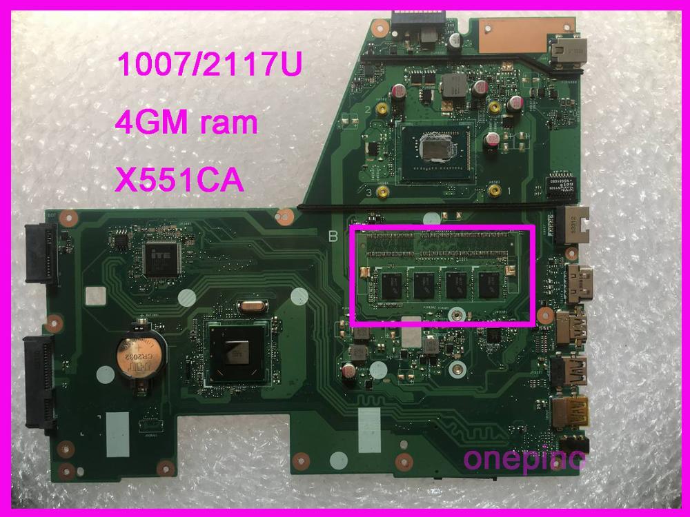 Placa base para ordenador portátil ASUS X551CA, placa base X551CA, REV2.2, nueva...