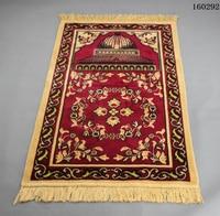 Vintage Islamic Muslim Prayer Mat Travel Prayer Home Decor Supplies Non-Slip Tassel Bedside Rug Geometric Floor Carpet LF969