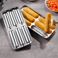 sausage maker eco friendly rust proof stainless steel portable sausage mold gadget for home kitchen baking supplies accessories%c2%a0