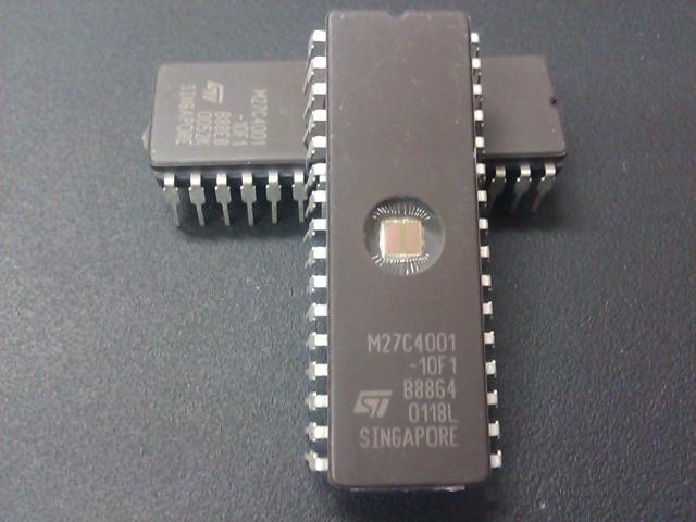Buena calidad de 10 unids/lote M27C4001-10F1 M27C4001 DIP32 32W 4M 512Kx8 120ns programable borrable ROM envío gratis