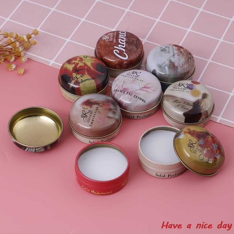 Perfume sólido e fragrâncias para homens e mulheres, 8 tipos de perfume sem álcool, perfumes para mulheres, desodorante, fragrância