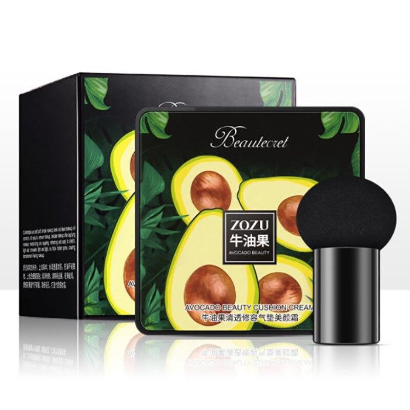 Cabeza de hongo, cojín de aire bb cc cream foundation, base de maquillaje hidratante SPF 50, base de maquillaje compacto