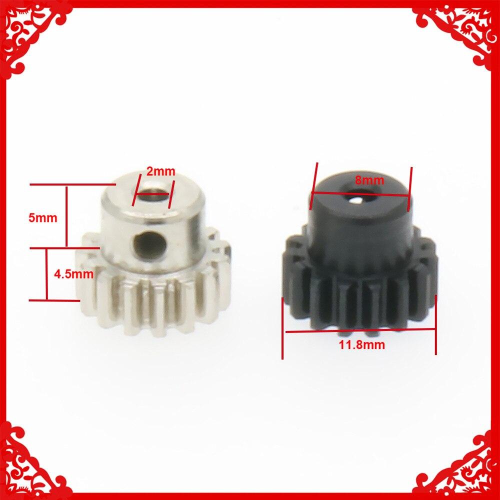 1PC Steel Pinion Gear Motor Gear 15T For Rc Model Car 1/18 Wltoys A959 A969 A979 K929 15teeth A58005