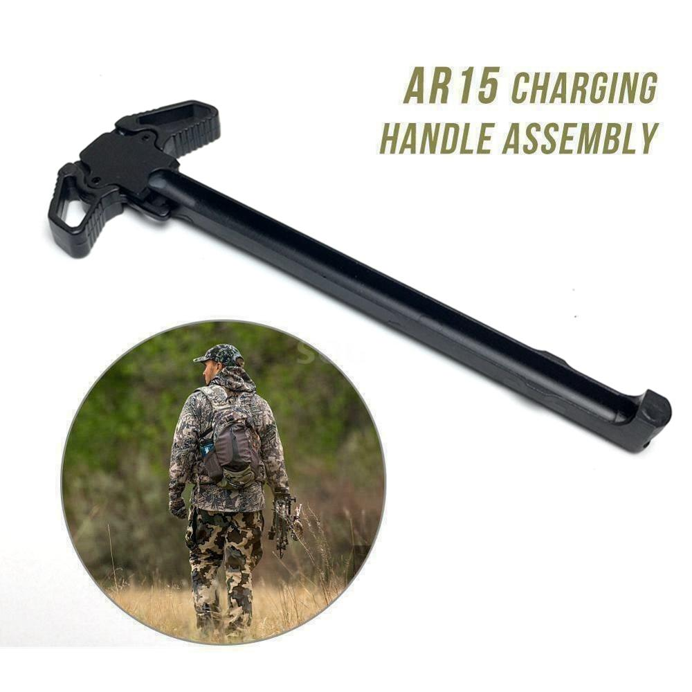 New Loading Lever Dual Use Butterfly Pulling Handle Turning Charging Handle Kid Toy Accessories Outd