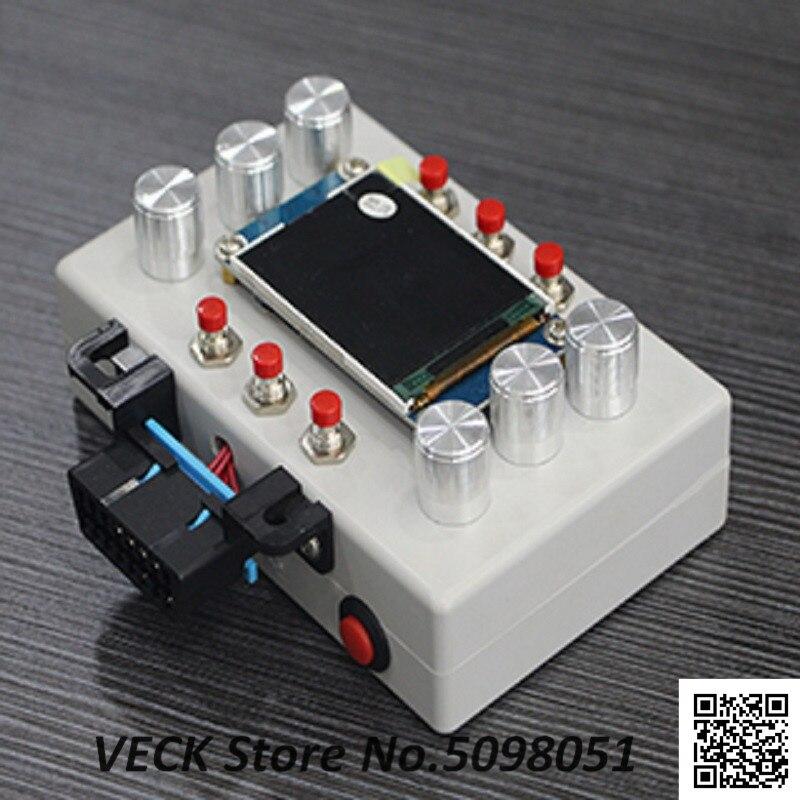 ELM327 OBD инструмент разработки, автомобильный ECU симулятор, поддержка J1850, 2,2 дюймовый ЖК-экран
