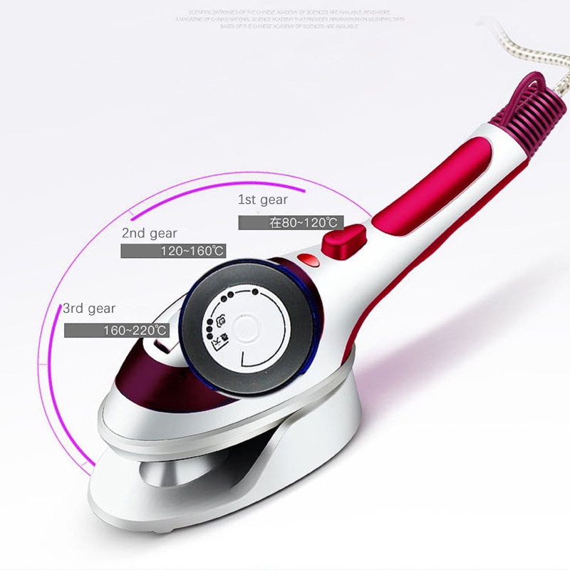 ferro portatil do curso domestico iron110v 220v roupa de engomar vertical handheld