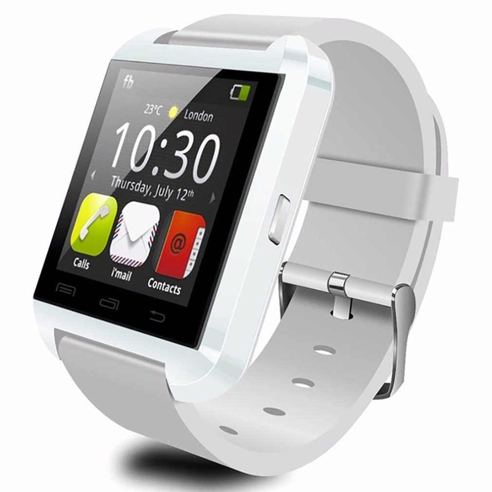 Latest U8 Touch Screen Smart Watch Bluetooth Smartwatch Health Monitoring Sports Watch For IOS Android Pedometer Smart Phone