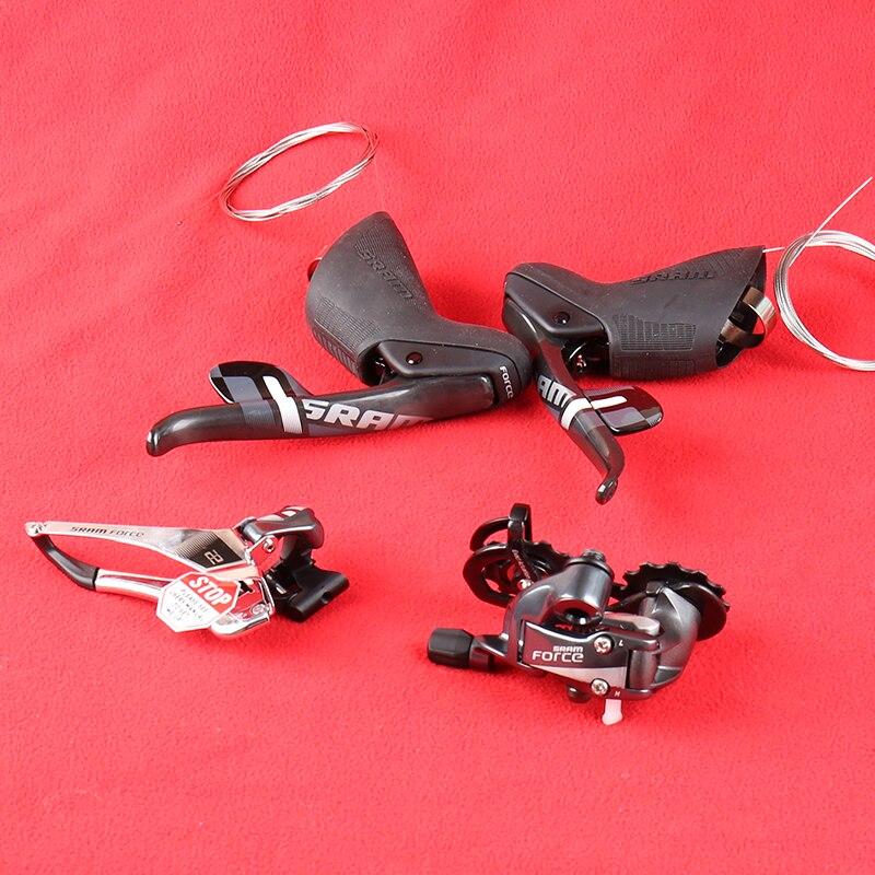 Sram Force 22 2X11 скоростной дорожный групповой набор переключатель передач тормозные рычаги левый и правый передний/задний переключатель Гидравлический дисковый тормоз Комплект