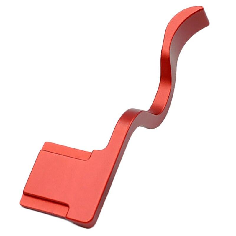 Cubierta de zapata de mano con agarre de pulgar hecha con hebilla de mango de soporte para Sony A7RIII A7III A9 A7R3 A73