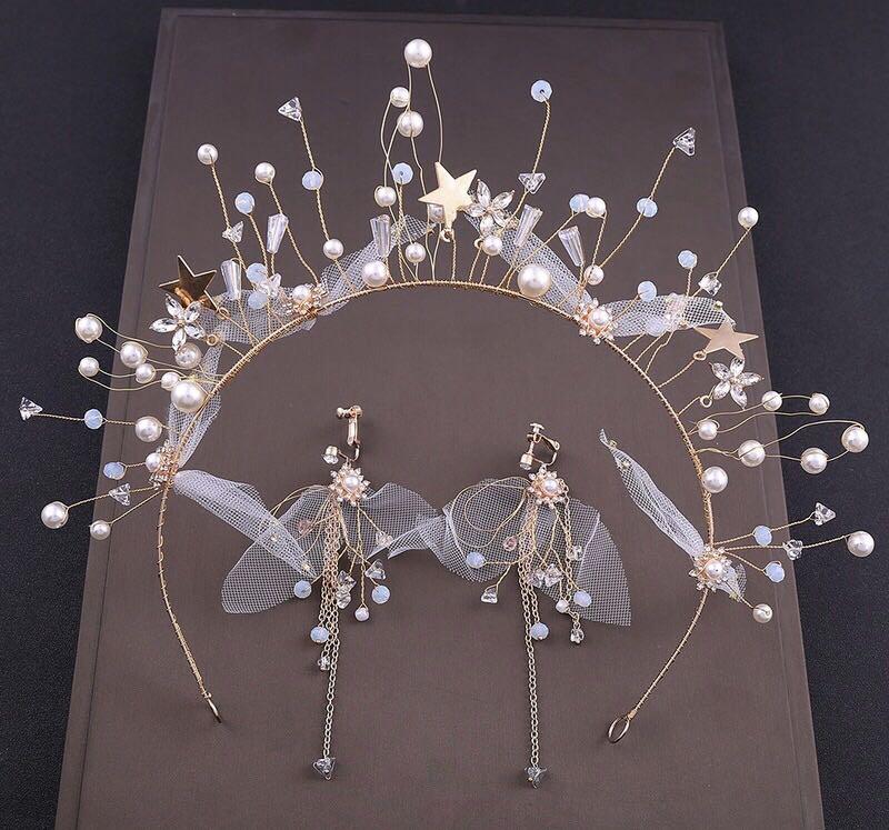 Jóias cabelo tiaras e coroas coroas coroa meghan markle jewlry do casamento de praia decorações do nativo americano