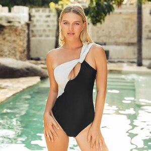Bikinis 2020 mujer Women One Piece Push Up Padded Bikini Set Swimsuit Swimwear Suit Monoki Cover up Dropping Biquini bathers