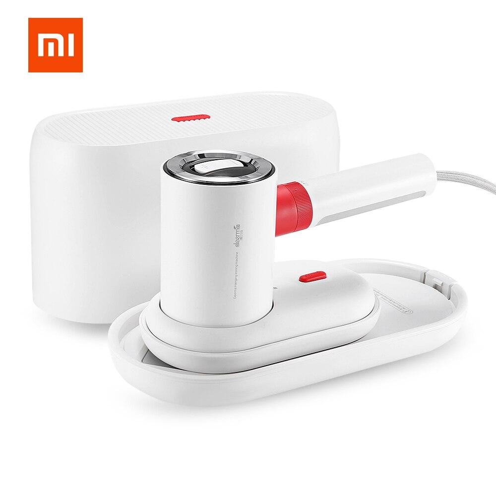 Xiaomi deerma 2in1 vapor de vestuário/ferro liso 1000 w portátil máquina de passar a vapor 110ml tanque de água 1000 w 180 ℃ para viagens para casa