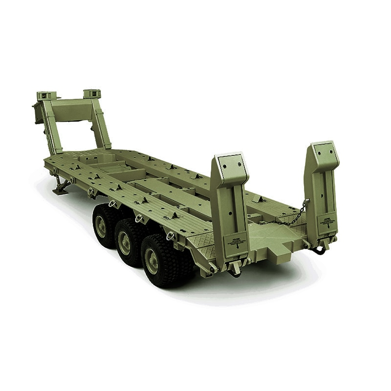 1/12 معدن M747 معدات ثقيلة نصف مقطورة P806 نموذج عسكري نقل سيارات لعب للأولاد TH16807-SMT6