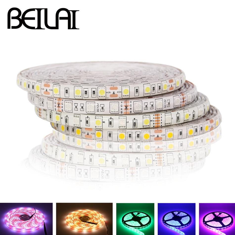 Tira de luces LED RGB 5050 DC12V + CCT, cinta de neón...
