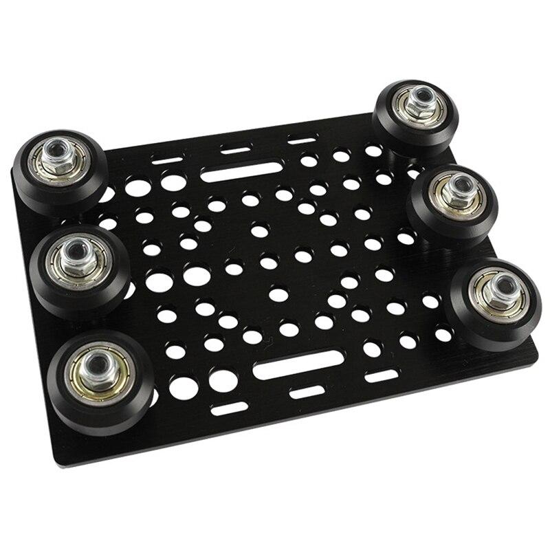 أسود بأكسيد الألومنيوم الخامس فتحة العملاقة مجموعة أطباق 20 - 80 مللي متر مع الخامس فتحة الصلبة الخامس عجلة عدة ل ماكينة بتحكم رقمي بالكمبيوتر ...
