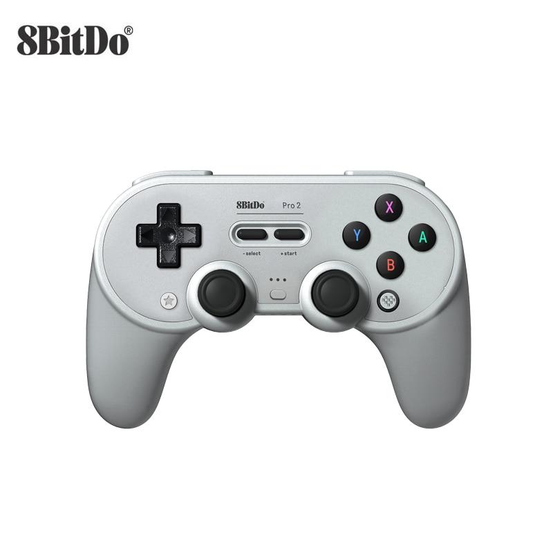 8Bitdo برو 2 SN30 برو + SN30 برو بلوتوث لوحة ألعاب لاسلكية تحكم عن ويندوز أندرويد macOS نينتندو سويتش البخار