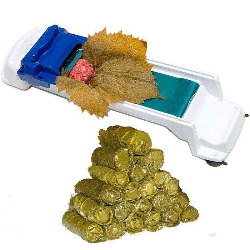Meat Roller Maker Rice Vegetable Food Cabbage Leaf  Rolling Tools Roller Machine for Turkish Dolma Sushi Creative Kitchen Gadget