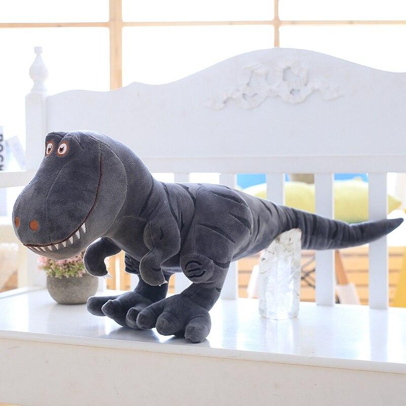 Tirânico 40-100 centímetros pequeno dinossauro bonito dos desenhos animados boneca boneca dragão menino presente de aniversário travesseiro boneca