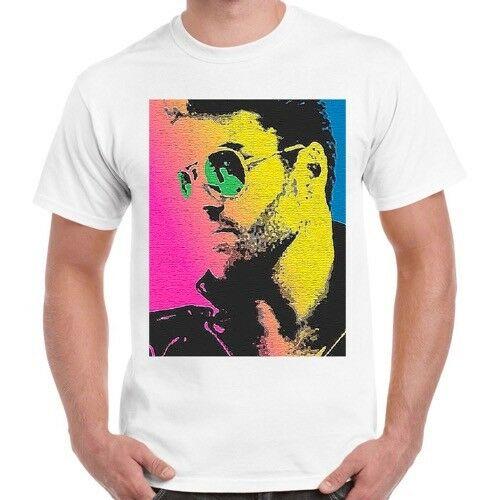 George Michael Wham estrella de la música Poster de Pop Art Ideal regalo Unisex T camisa 2407