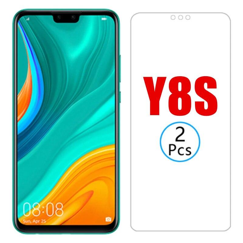 2 шт. для Huawei y8s 2020 Y8 S защитное закаленное стекло Защита для экрана для huawei y 8 s y 8 s Y8s 2020 huawey Защитное стекло для телефона