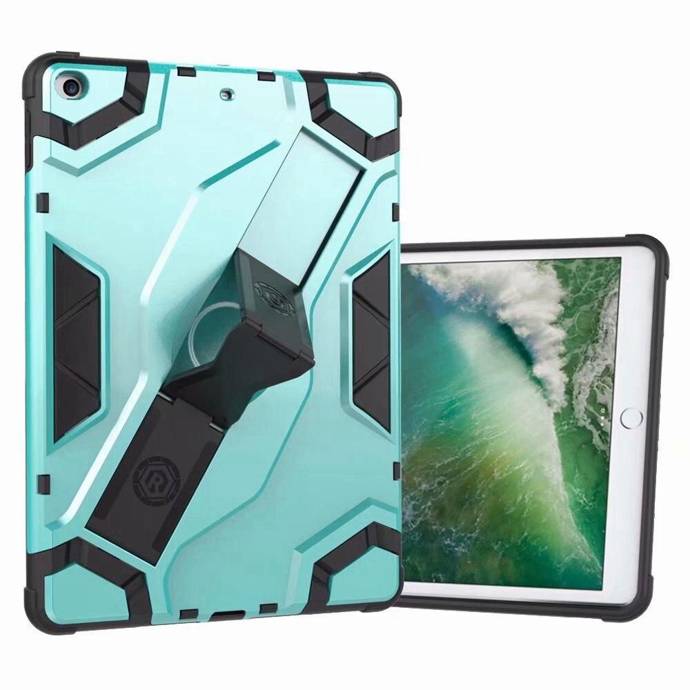 Para funda de iPad Air A1474 A1475 A1476 armadura protectora a prueba de golpes TPU + PC correa de mano portátil soporte Tablet cubierta para iPad Air