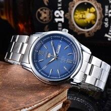 Luxury Brand Fashion Casual Steel Strap Watch Men's Quartz Waterproof Watches Man Analog Reloj Hombr