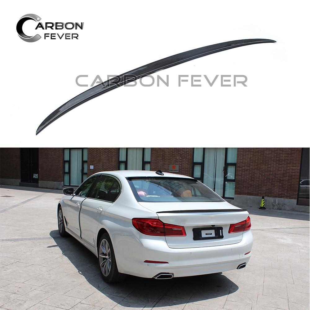 G30 جناح خلفي للسيارة من ألياف الكربون ، صندوق خلفي للسيارة ، BMW G30 5 Series ، 520i ، 530i ، 540i ، 2017