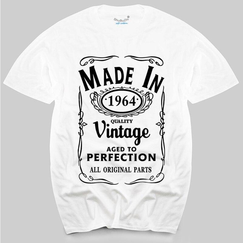 Camiseta retro para hombre, regalo para la edad de cumpleaños, regalo divertido para hombre, camiseta para hombre, 1964