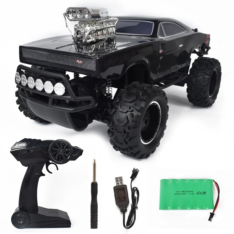 1/10 2.4G 4WD RC Remote Control Car High Speed 28 km/h Climbing Off Road Crawler Vehicle Model RTR Toys Road monster Truck