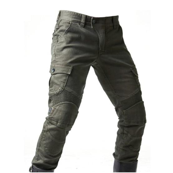 2020 pantalones vaqueros holgados de motocicleta vaqueros para conducir suelto de ocio versión con rodilleras pantalones de caballero pantalón de montar de verano