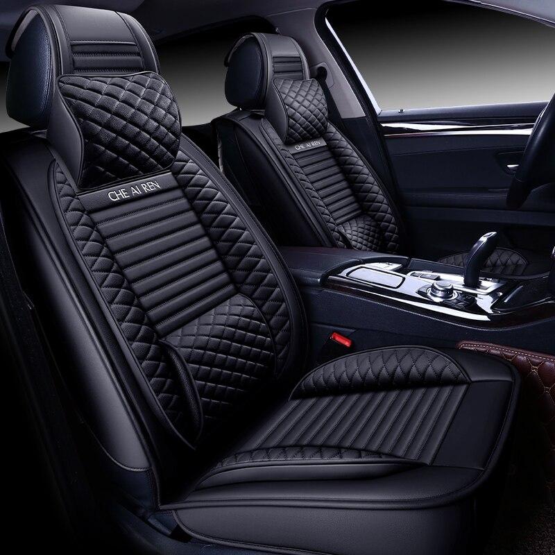 تغطية كاملة ايكو الجلود مقاعد السيارات يغطي مقعد سيارة من جلد بلوتونيوم يغطي forدايو ماتيز gentra nexia