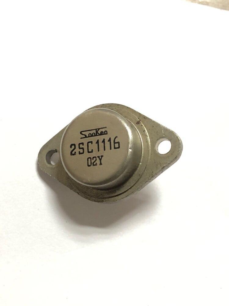 1 peças de segunda mão sanken 2sc1116 para-3 original desmontagem da máquina amplificador de potência transistores c1116