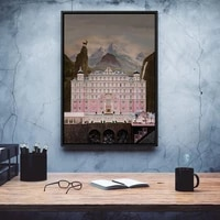 the grand budapest hotel minimal movie print poster vintage classic movie hd print posters modular picture canvas bedroom