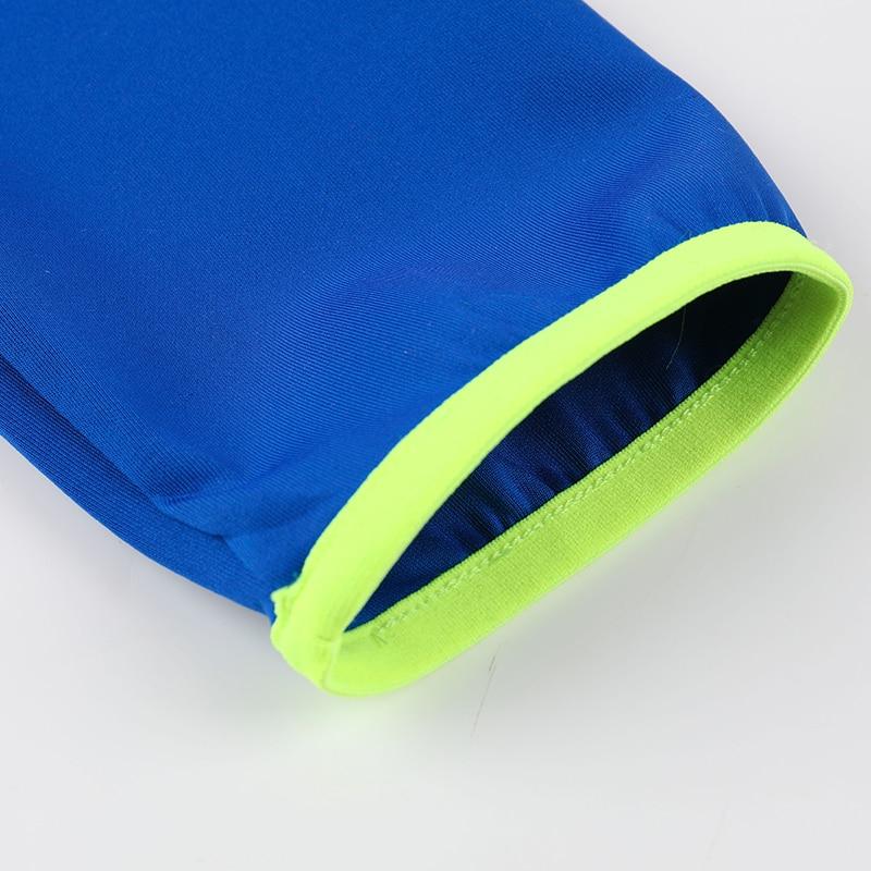 Купить с кэшбэком Long Sleeve Sports Shirt Stand Collar Men Quick Dry Outdoor Sweatshirt Spring Autumn Breathable Gym Running Training T Shirts