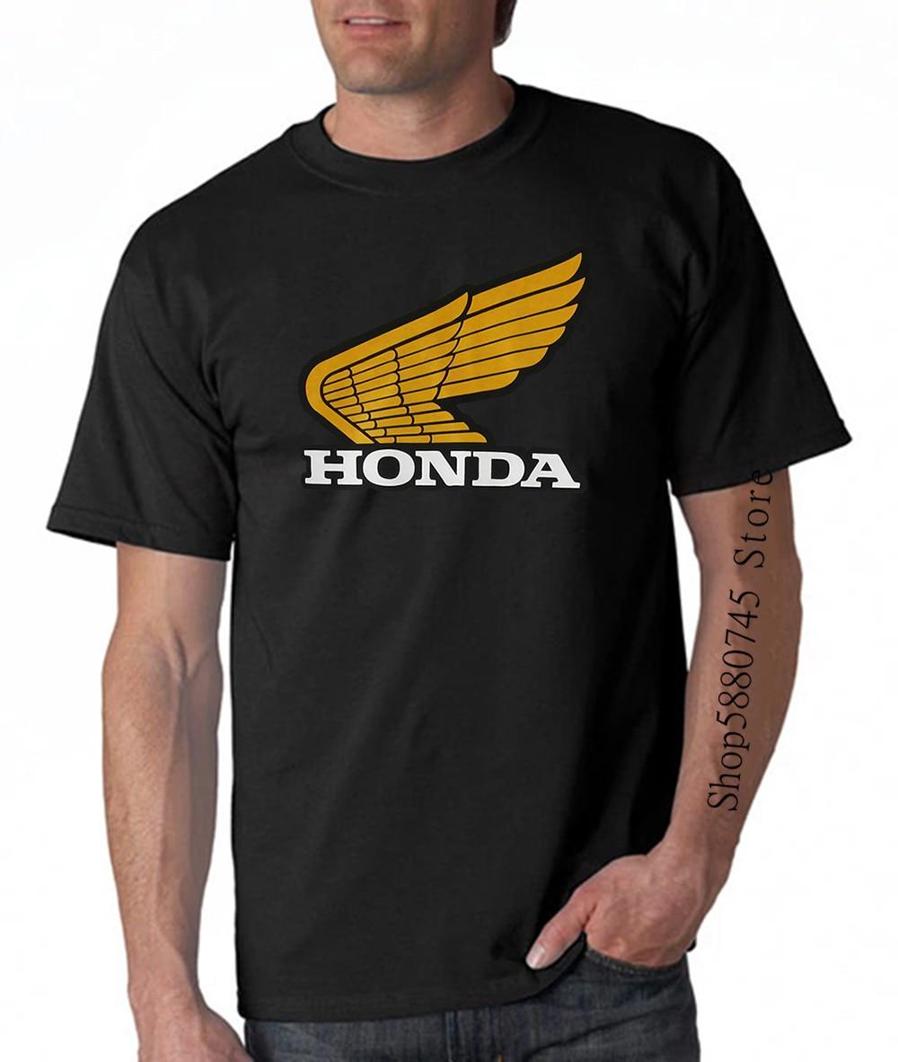 Klasik Honda T Shirt Hrc 250R Xr75 Mr50 Vintage Retro Pilot Elsinore Fourtrax