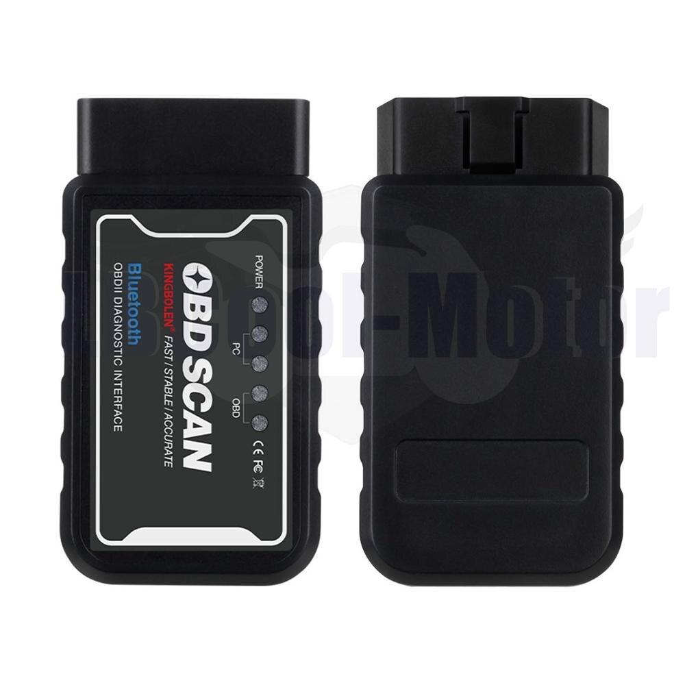 LM327 1,5 Bluetooth con Chip PIC18F25K80 herramienta de diagnóstico automático del coche OBD interfaz escáner para Android
