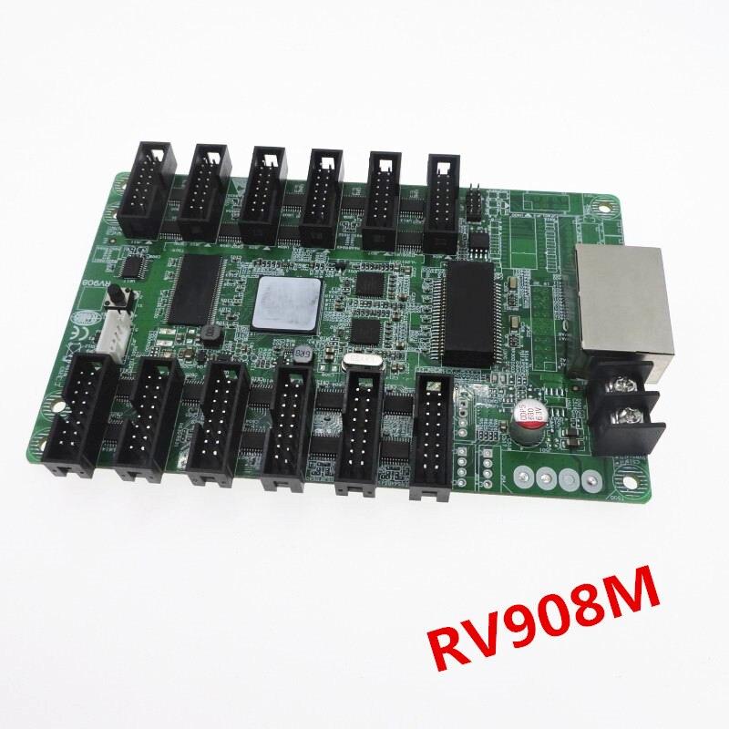 Pantalla led RV908M32 linsn a todo color Tarjeta receptora RV908 (versión avanzada de rv908t, viene con puertos HUB75)