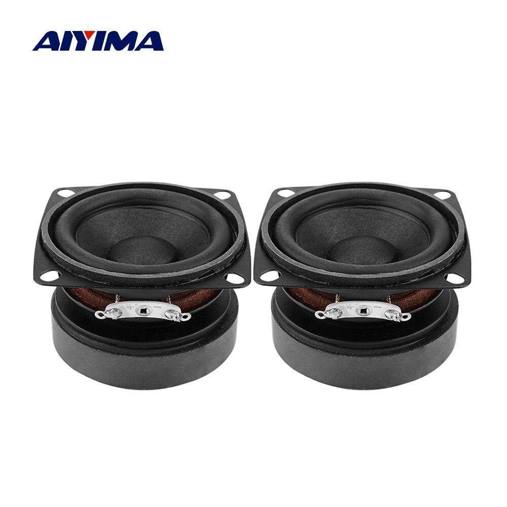 Altoparlanti portatili Audio AIYIMA 2 pezzi 53mm gamma completa 4 Ohm 15 W altoparlante suono fai da te Mini altoparlante per Home Theater