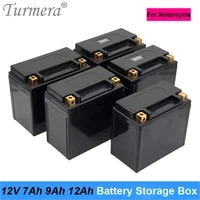 turmera 12v 7ah 9ah 12ah battery storage box with indicator apply to for motorcycle battery and 24v uninterrupted power supply a