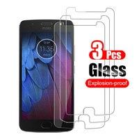 3 шт. закаленное стекло для Motorola Moto G5S G5 S Plus защита для экрана для Motorola Moto G5S Plus Защитная стеклянная пленка 9H