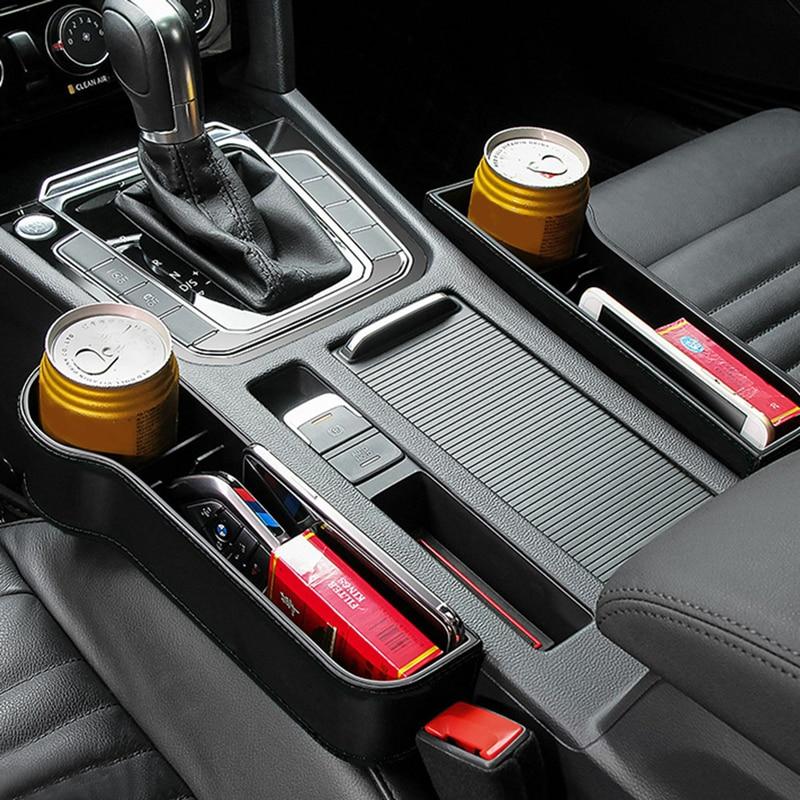 Organizador de asiento de coche, estuche de almacenamiento para automóvil, soporte de...