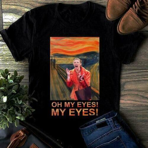 Phoebe Freunde Oh Meine Augen Meine Augen Schrei Vintage Männer T-Shirt Schwarz Baumwolle S-3XL T Shirt geschenk lustige