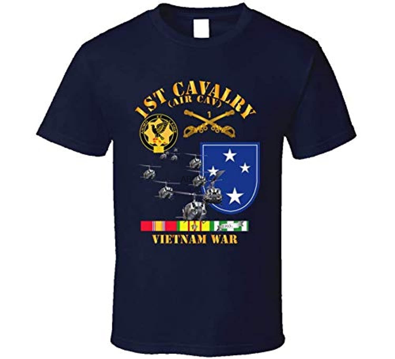 SMALL-Army-1er-Camiseta de la División de la Marina, camisa de la Marina