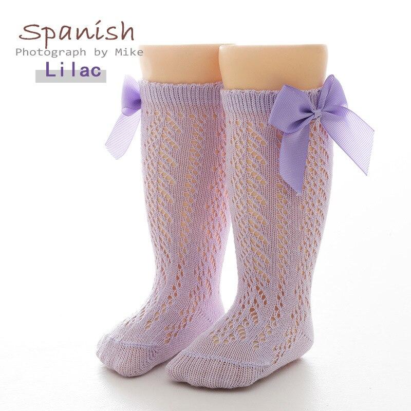 5 Pairs/lot socks for kids 0-7 Years Breathable Fishnet Kids Socks Girls Cotton High Socks Lace Fish