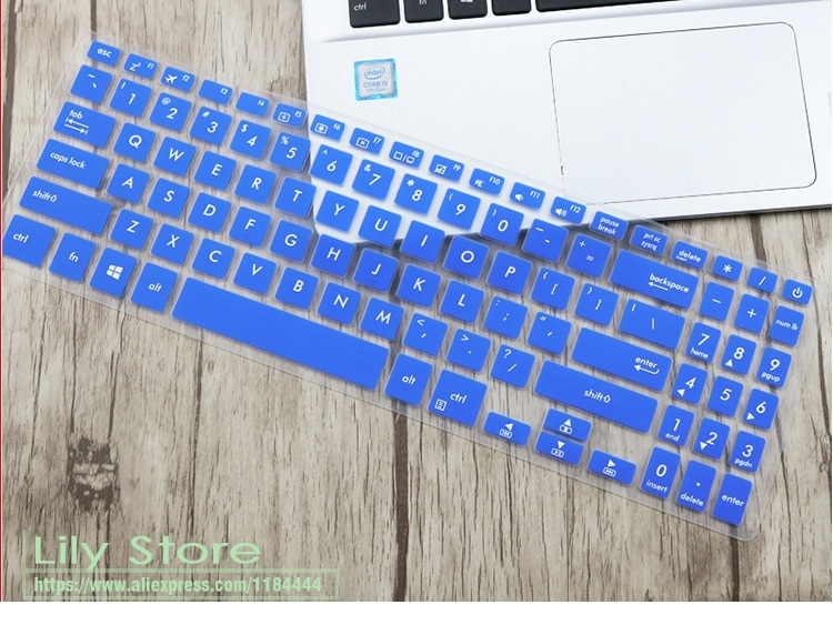 Para Asus VivoBook 15 X507 X507MA X507M X507AU x507ua X507U Y5000U YX560UD X560U X560 X560UD cubierta de teclado del ordenador portátil Protector de la piel