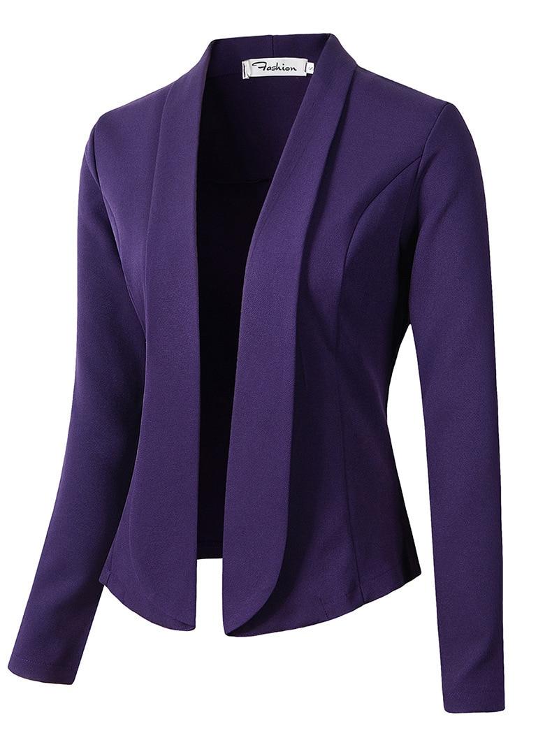 Повседневный костюм с длинным рукавом, куртка с длинным рукавом, женский маленький костюм, куртка, блейзеры для женщин