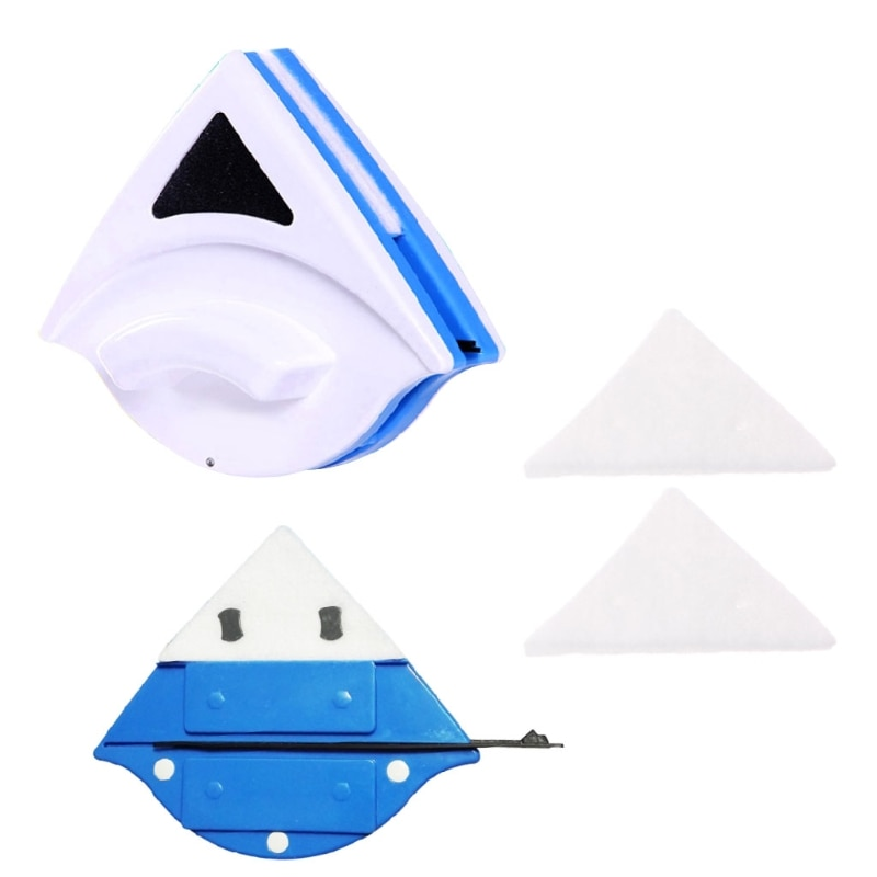 AliExpress - Triangle Replacement Sponge For Magnetic Window Glass Cleaning Brush Accessories